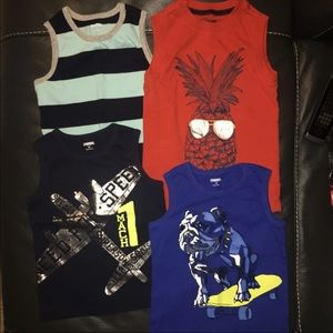 (4T) Gymboree | Boys Tank Bundle